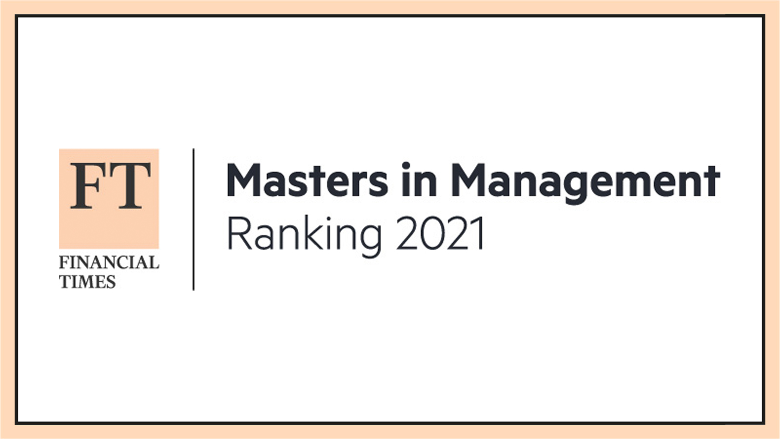 top 100 in the Financial Times Masters in Management (MiM)